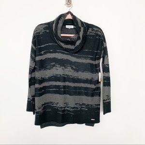 NWT Calvin Klein Cowl Neck Sweater S #4700